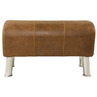 Pommel Upholstered Bench Size: Small
