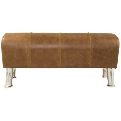 Pommel Upholstered Bench Size: Large