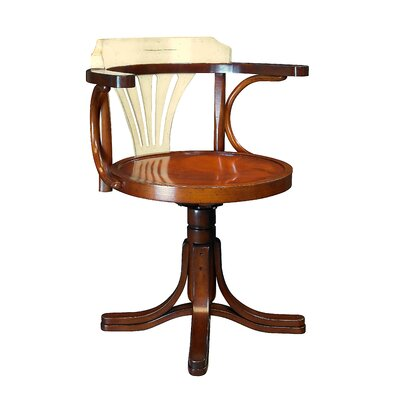 Purser's Low-Back Bankers Chair Finish: Ivory