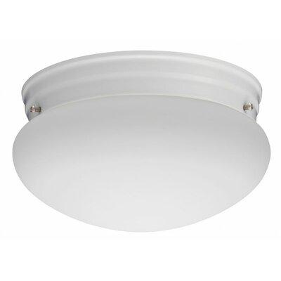 "Lithonia Lighting Mushroom 9"" 1 Light Flush Mount"