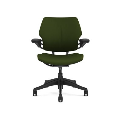 Freedom Office Chair Upholstery: Wave - Loden