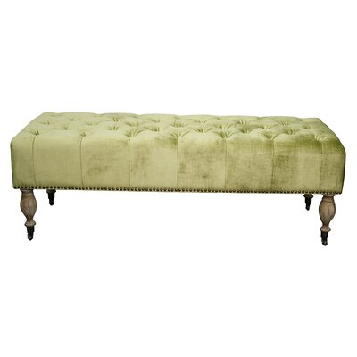 Thorn Wood Bench Color: Olive