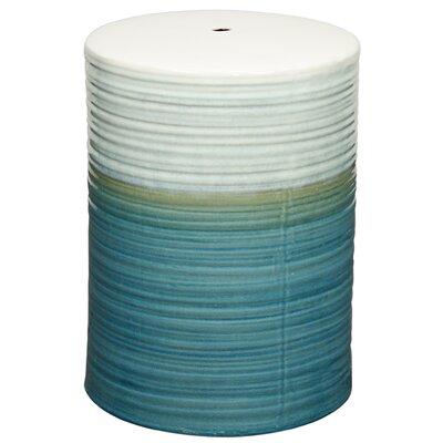 Sudbury Swirl Garden Stool Color: Teal