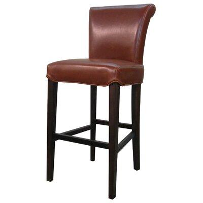 """Lehner 30"""" Bar Stool Upholstery: Cognac"""