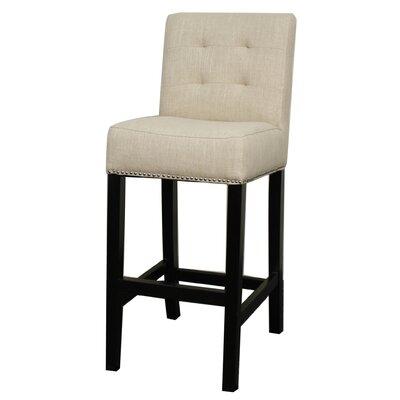 """Osceola 29.5"""" Bar Stool Upholstery: Flax"""