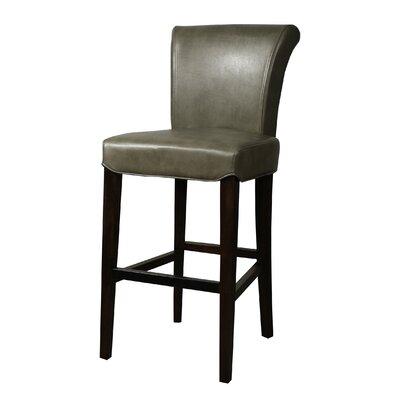 """Lehner 30"""" Bar Stool Upholstery: Quarry"""