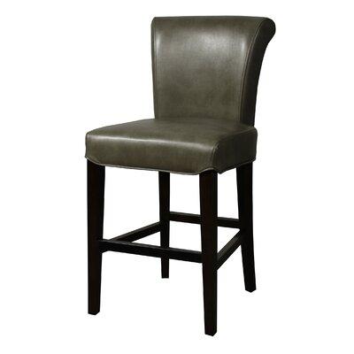 """Lehner 26"""" Bar Stool Upholstery: Quarry"""