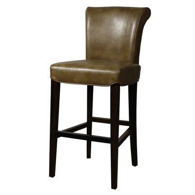 """Lehner 30"""" Bar Stool Upholstery: Molasses"""