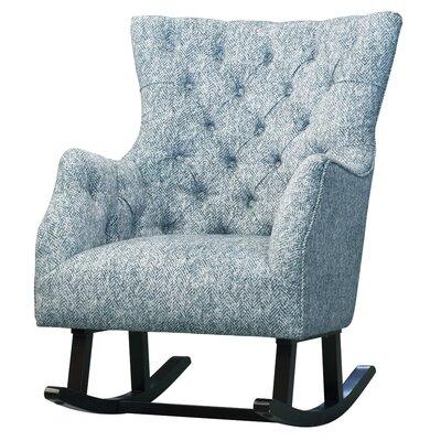 Ehrlich Rocking Chair Fabric: Quiver Indigo