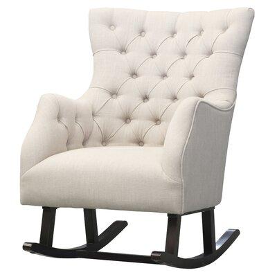 Ehrlich Rocking Chair Fabric: Flax