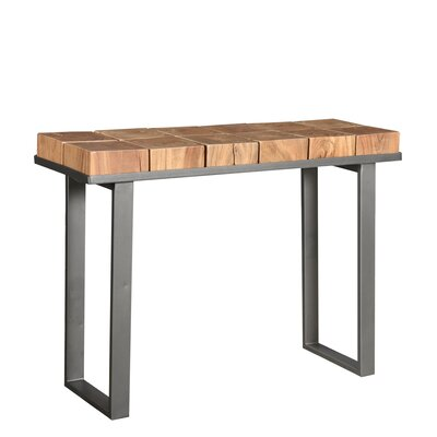 Block Console Table