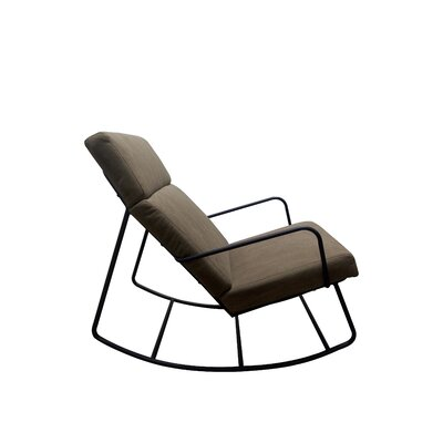 Bogen Rocking Chair Fabric: Light Brown