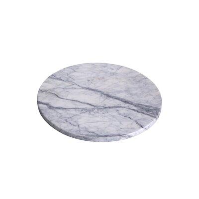 "Lady Purple Marble Round Cutting Board Size: 12"" L x 12"" W"