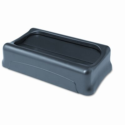 Rubbermaid Commercial Products Swing Top Lid For Slim Jim Waste Containers