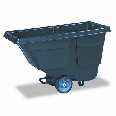 Rubbermaid Commercial Products 37.5-Gal Rectangular Tilt Truck