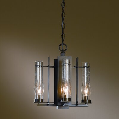 Hubbardton Forge New Town 4 Light Chandelier