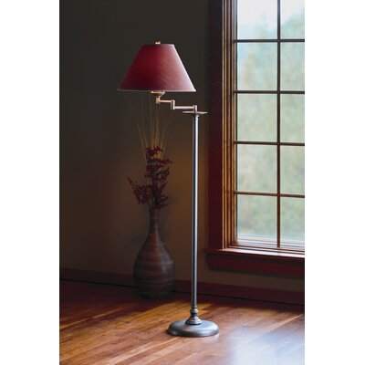 "Hubbardton Forge Simple Lines 45.75"" Task Floor Lamp"