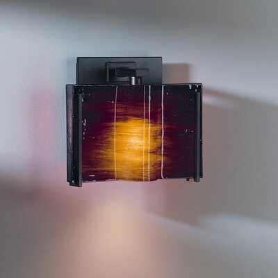 Hubbardton Forge Exos 1 Light Wave Wall Sconce