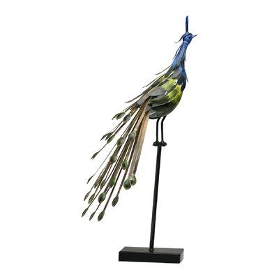 Cyan Design Peacock on Stand Statue