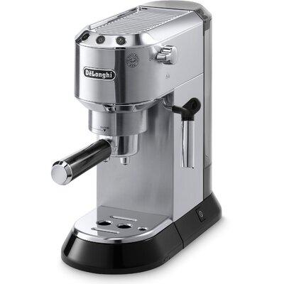 Dedica 15 Bar Pump Espresso Machine with Cappuccino System Color: Silver