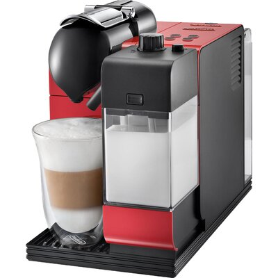 Lattissima Capsule Espresso/Cappuccino Machine Color: Red