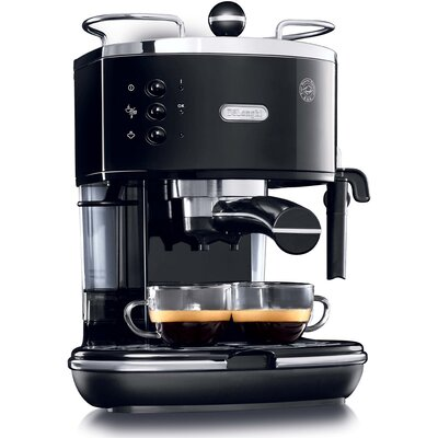 Pump Espresso Maker Color: Black
