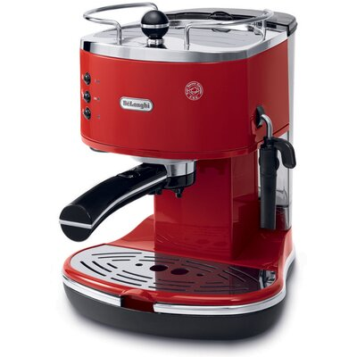 Pump Espresso Maker Color: Red
