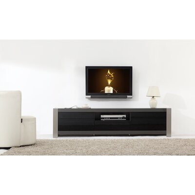 "Coordinator 79"" TV Stand Color: Grey"