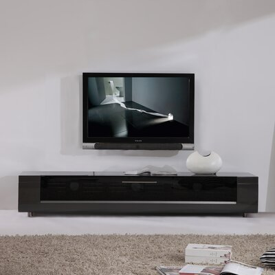 "Editor Remix 79"" TV Stand Color: Gray"