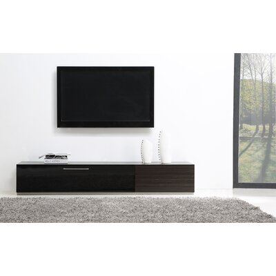 "Producer 80"" TV Stand Color: Ebony"