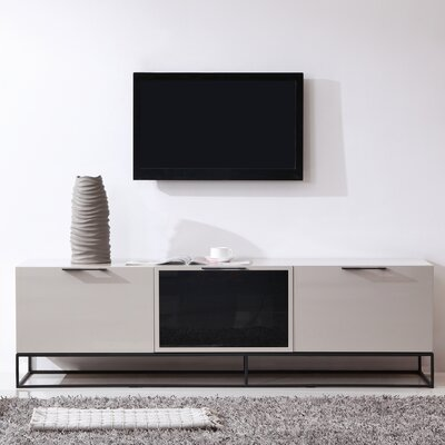 "Animator 71"" TV Stand Color: Cream"