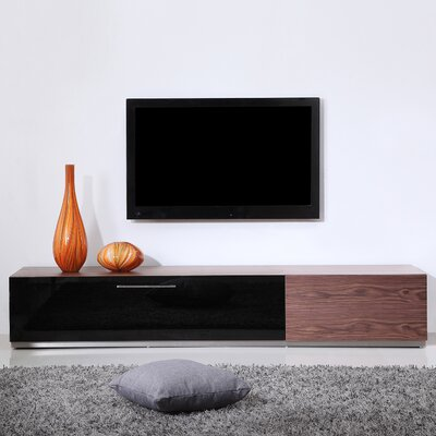 "Producer 80"" TV Stand Color: Walnut"