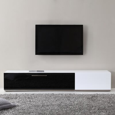 "Producer 80"" TV Stand Color: White"