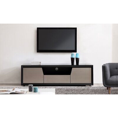 "Esquire 75"" TV Stand Color: Matte Black"