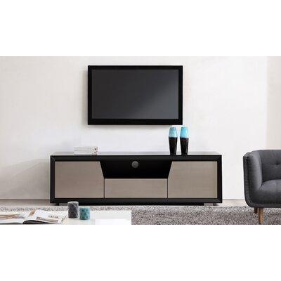 "Esquire 75"" TV Stand Color: Matte Black"