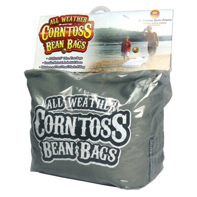 Four Pieces Bean Bag Game Set Color: Grey