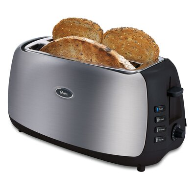 4 Slice Long-Slot Toaster