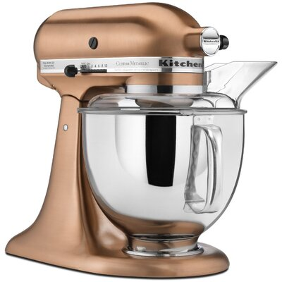 Custom Metallic 5 Qt. Stand Mixer - KSM152PS Color: Satin Copper