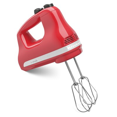 Ultra Power 5 Speed Hand Mixer - KHM512 Color: Watermelon