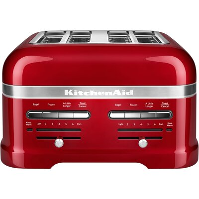 Pro Line 4 Slice Automatic Toaster Color: Red