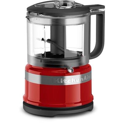 3.5-Cup Mini Food Processor - KFC3516 Color: Empire Red