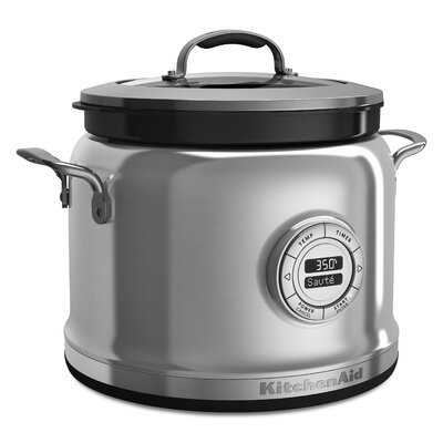 4 Quart Multi Cooker Color: Stainless Steel