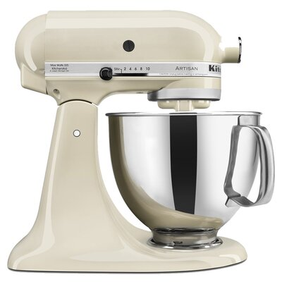 Artisan 5 Qt. Stand Mixer with Pouring Shield - KSM150PS Color: Ocean