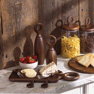Niklas 5 Piece Wood Cheese Board Set