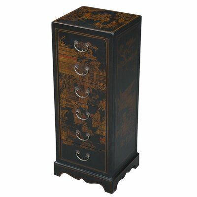 Handmade Oriental Antique Style Accent Chest