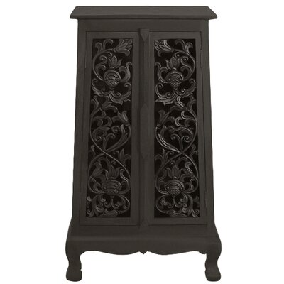 Acacia 2 Door Storage Accent Cabinet