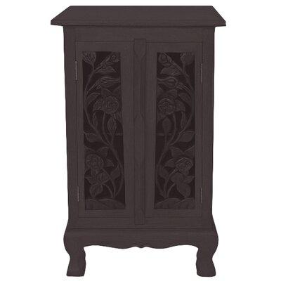 Acacia 2 Door Storage Accent Cabinet