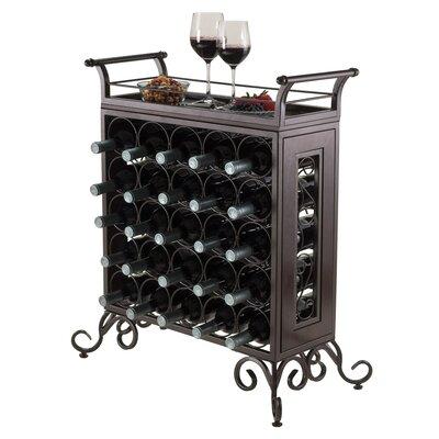 Silvano 25 Bottle Floor Wine Rack