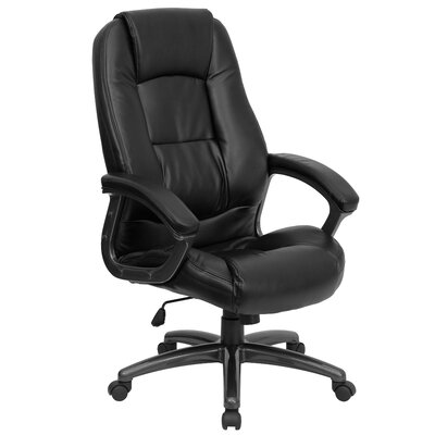 Personalized Leather Executive Chair