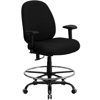 Laduke Drafting Chair Arms: Included